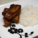 Asian Pork Tenderloin with our Spicy Garlic Sauce