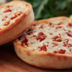 Easy Saucey Pizzas
