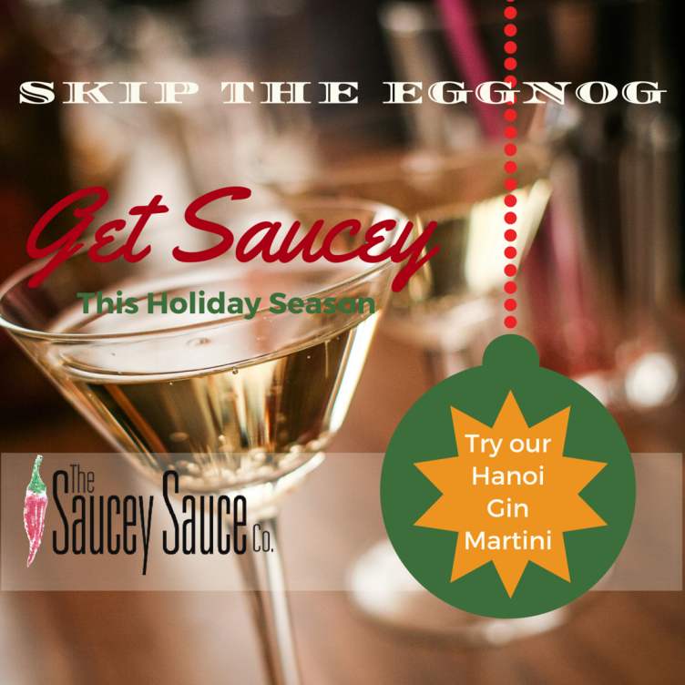 Saucey Sauce Martini Recipe