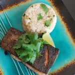 Pan-Seared Mahi Mahi with Coconut-Cilantro Rice