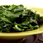 Spicy Crispy Collards