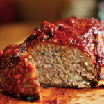 Sweet Jalapeno Glazed Meatloaf