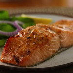Spicy Glazed Salmon