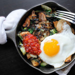 Spicy Potato, Bok Choy & Shallot Hash