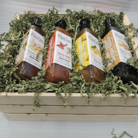 Saucey Sauce Gift Box All Holidays