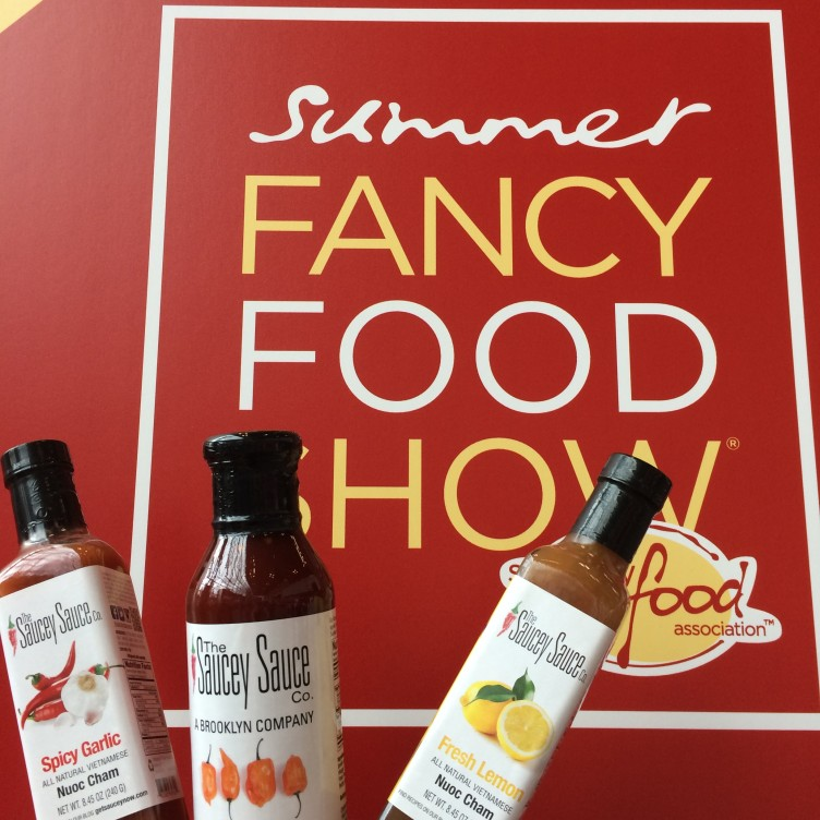 Saucey Sauce at the Summer Fancy Food Show!