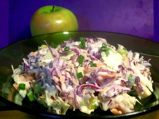 Asian Apple Salad