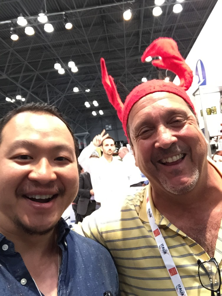 Ken and Lobster Dude