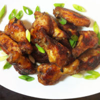 Ginger Glaze Tailgate Wings