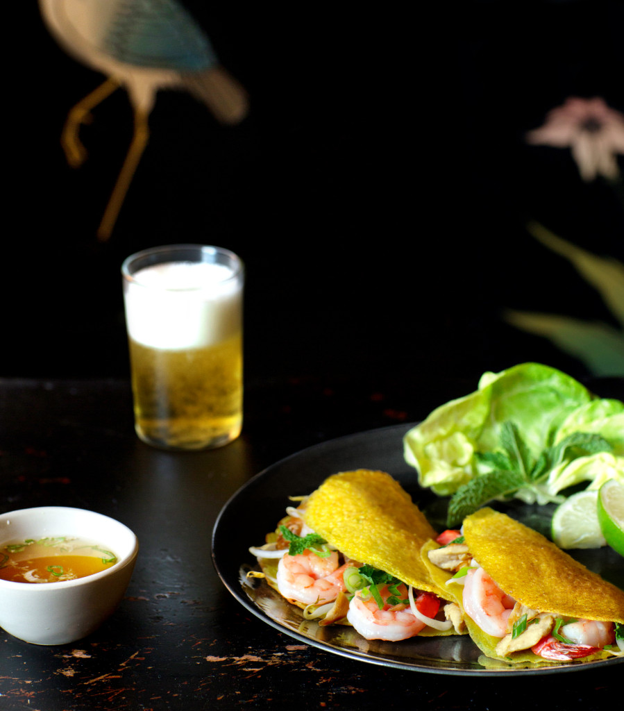 3. Vietnamese Savory Crepes with Spicy Garlic Sauce (1)