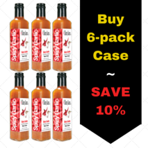 Saucey Sauce Spicy Garlic 6-pack case
